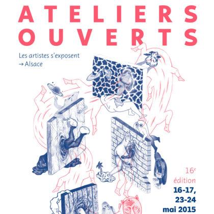 Les Ateliers ouverts 2015 à Mulhouse