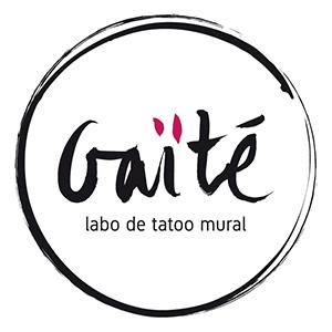 Hélène GUY </br> Labo de tatoo mural Gaïté