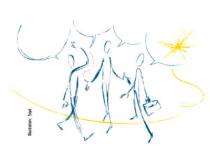 Revenu garanti, autonomie et coopération